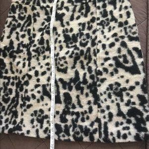 Ann Taylor Animal Print Skirt NWT Size 12